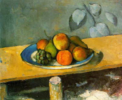 Cezanne: Apples, Peaches, Pears and Grapes - Mouse Pad Universe