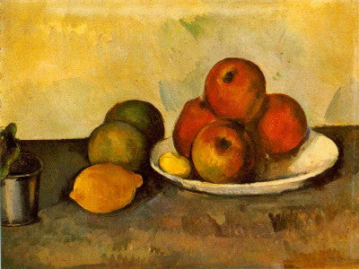 Cezanne: Still Life with Apples - Mouse Pad Universe