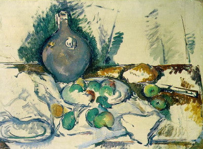 Cezanne: Still Life with Water Jug - Mouse Pad Universe