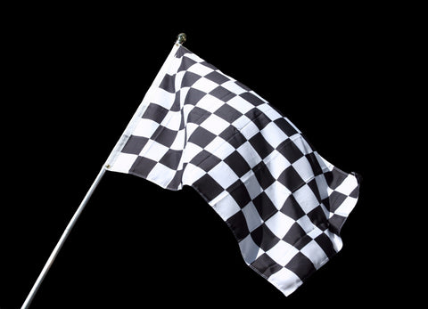 Checkered Flag - Mouse Pad Universe