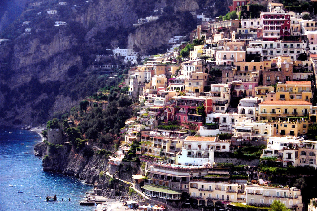 Cliffs of Positano - Mouse Pad Universe