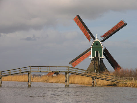 Dutch Windmill - Mouse Pad Universe