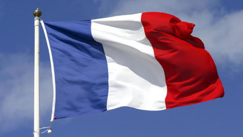 French Flag - Mouse Pad Universe