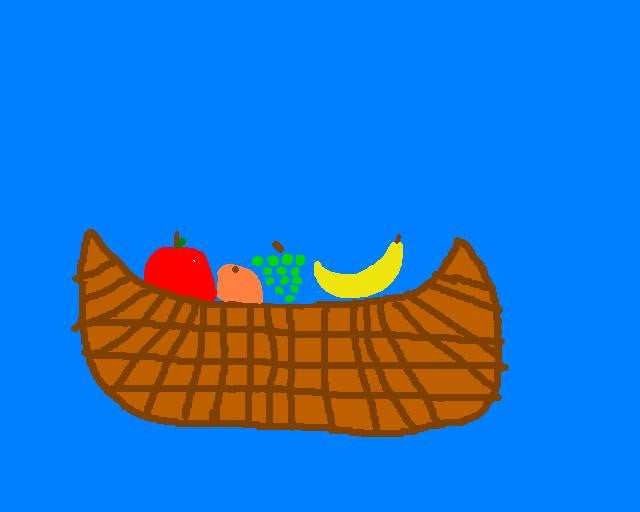 Fruit Basket - Mouse Pad Universe