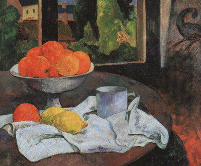 Gauguin: Still Life with Fruit - Mouse Pad Universe