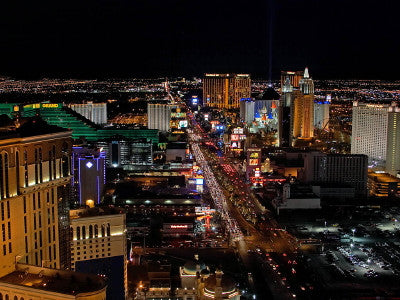 Las Vegas at Night - Mouse Pad Universe