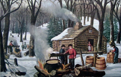 Maple Sugaring - Mouse Pad Universe