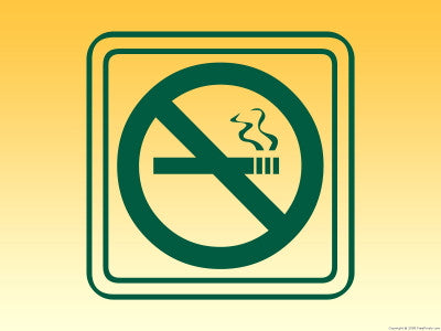 No Smoking - Mouse Pad Universe