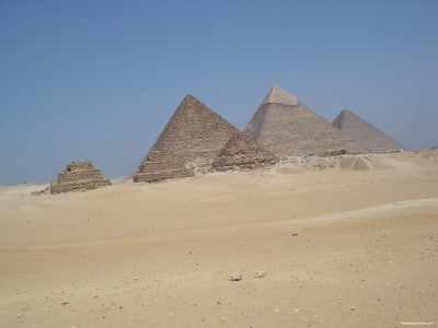 Pyramids in Egypt - Mouse Pad Universe