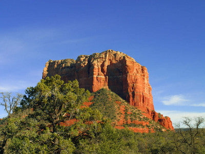 Rock in Sedona - Mouse Pad Universe