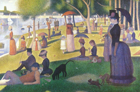 Seurat: A Sunday Afternoon on La Grande Jatte - Mouse Pad Universe