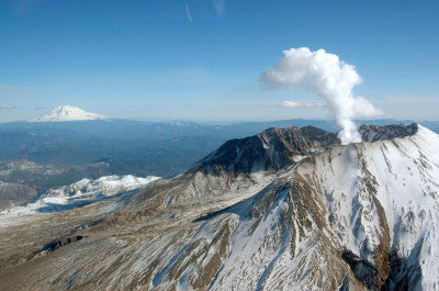 Steaming Mount St. Helens - Mouse Pad Universe