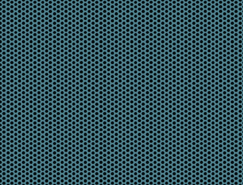 Teal With Dots - Mouse Pad Universe
