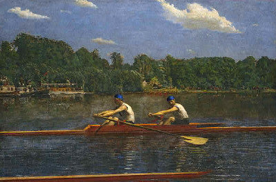 Thomas Eakins: The Biglin Brothers Racing - Mouse Pad Universe