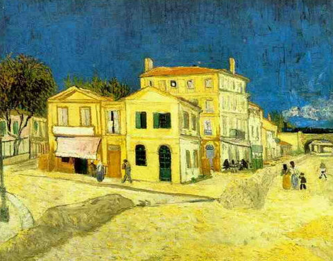 Van Gogh: Yellow House - Mouse Pad Universe