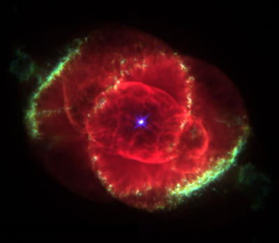 Cats Eye Nebula - Mouse Pad Universe