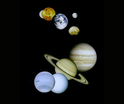Solar System - Mouse Pad Universe