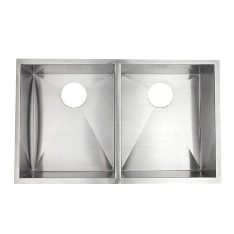 Free Stainless Steel Double Bowl Sink