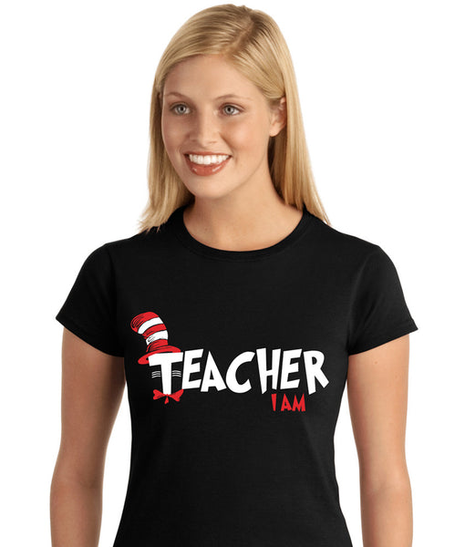 Cat In The Hat I Am Shirt