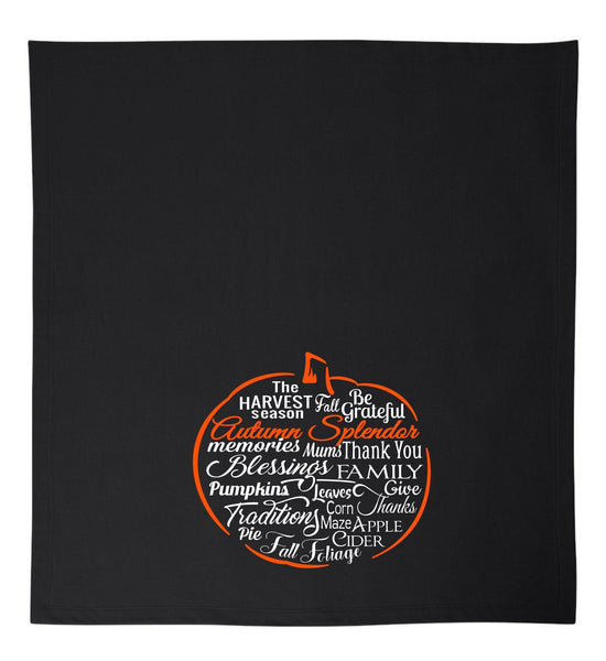 Blanket - Autumn Splendor Pumpkin Blanket
