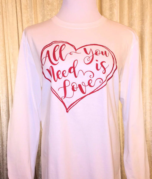 Shirt - All You Need Is Love