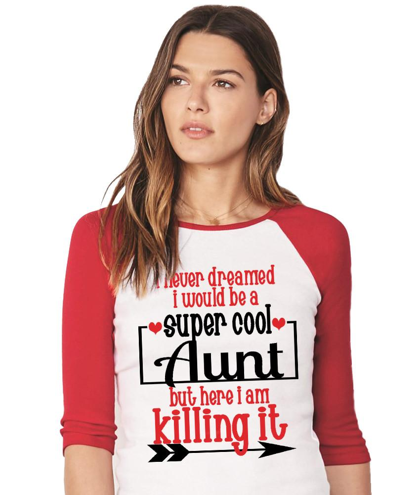 Shirt - Super Cool Aunt Shirt