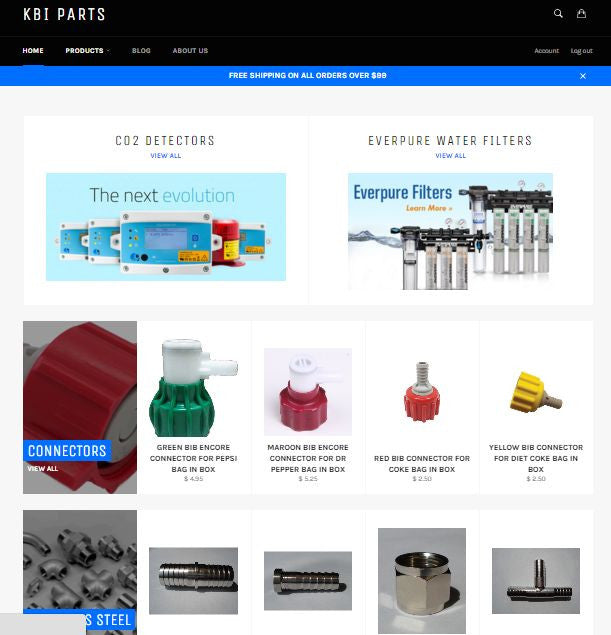KBIParts.com Website Updated!