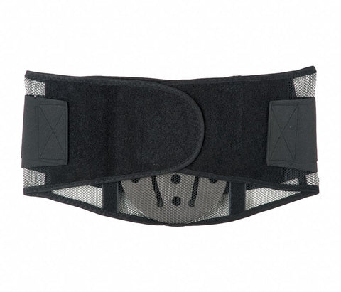 Mesh Back Brace Support with Lumbar Pad