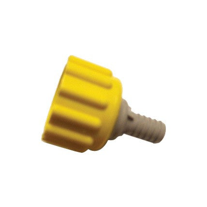 YELLOW BIB CONNECTOR FOR DIET COKE BAG IN BOX - KBIParts.com