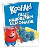 Blue Raspberry Lemonade Kool-Aid Cling for Cold Powdered Beverage