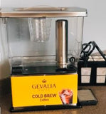 Service Ideas CBNS3SS Gevalia labeled Cold Brew 'N' Serv System