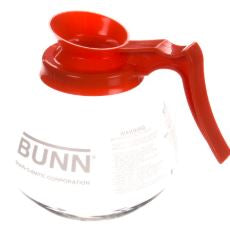 Bunn 42401.0101 Decaf Glass Decanter, Orange Handle