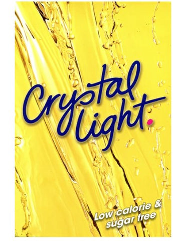 Crystal Light (Yellow) Cling for Cold Powdered Beverage