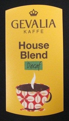 Gevalia House Blend Decaf Cling for Airpots