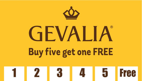 Gevalia Frequency Card (Pack of 25)