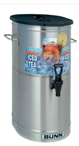 Bunn 34100.0002 TDO-4 4 Gallon Iced Tea Dispenser with Brew-Through Lid