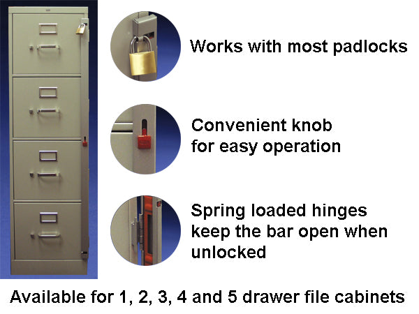 File Cabinet Lock Bars Philadelphia Security Products