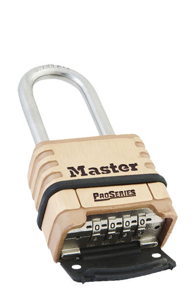 Master Lock 1175LHSS All Weather Combination Padlock