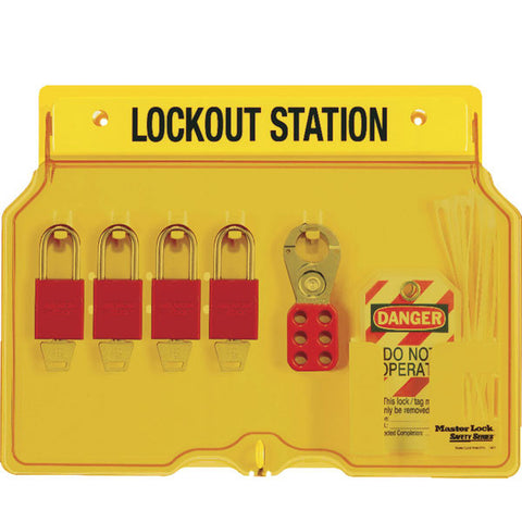 Master Lock 1482BP1106 Padlock Station