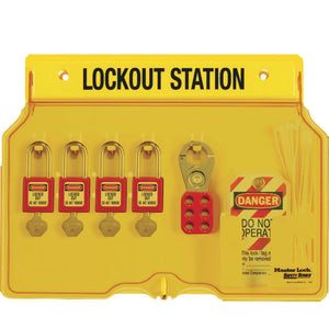 Master Lock 1482BP410 Padlock Station