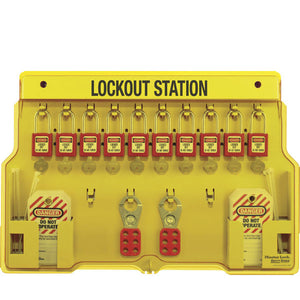Master Lock 1483BP410 Padlock Station