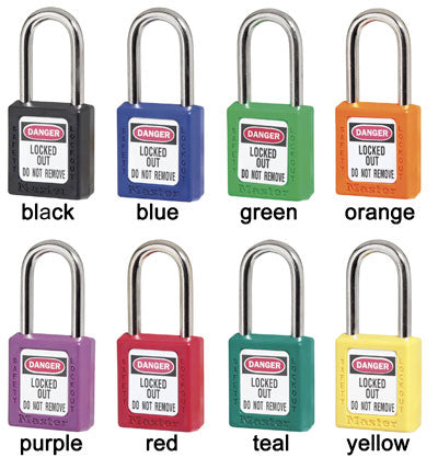 Master Lock 411LT Safety Lockout Padlock
