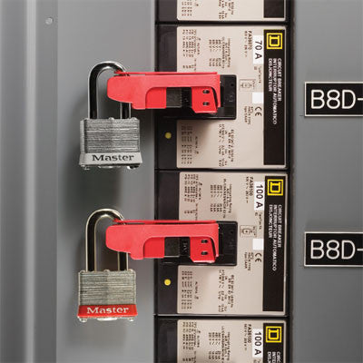 Master Lock 491B Circuit Breaker Lockout