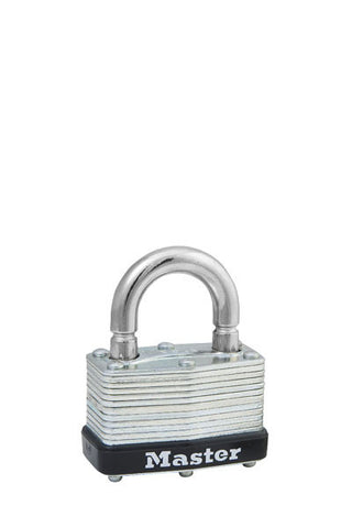 Master Lock 500KABRK Laminated Steel Warded Padlock