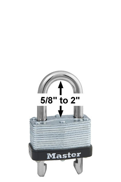 Master Lock 510D Laminated Steel Warded Padlock
