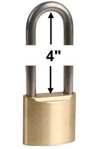 Made in USA 52840 Brass Padlock