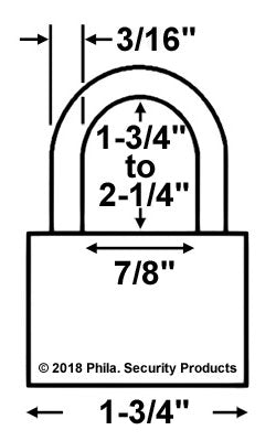 Economy Lock 53200 One-Time Use Padlock