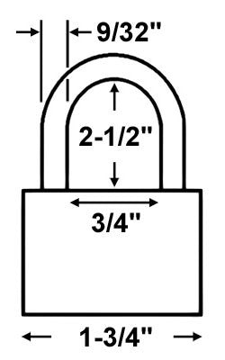 Abus Lock 70IB/45HB63 All Weather Padlock