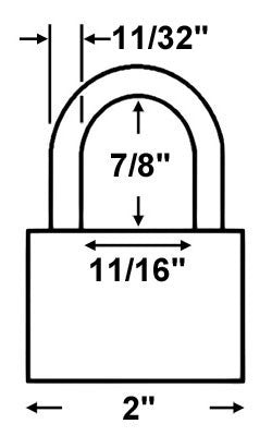 Abus Lock 70IB/50 All Weather Padlock