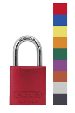 Abus Lock 72/40 Safety Lockout Padlock